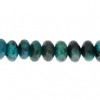 African Turquoise 8mm Rondelle (Flat Round) 35pcs Approx